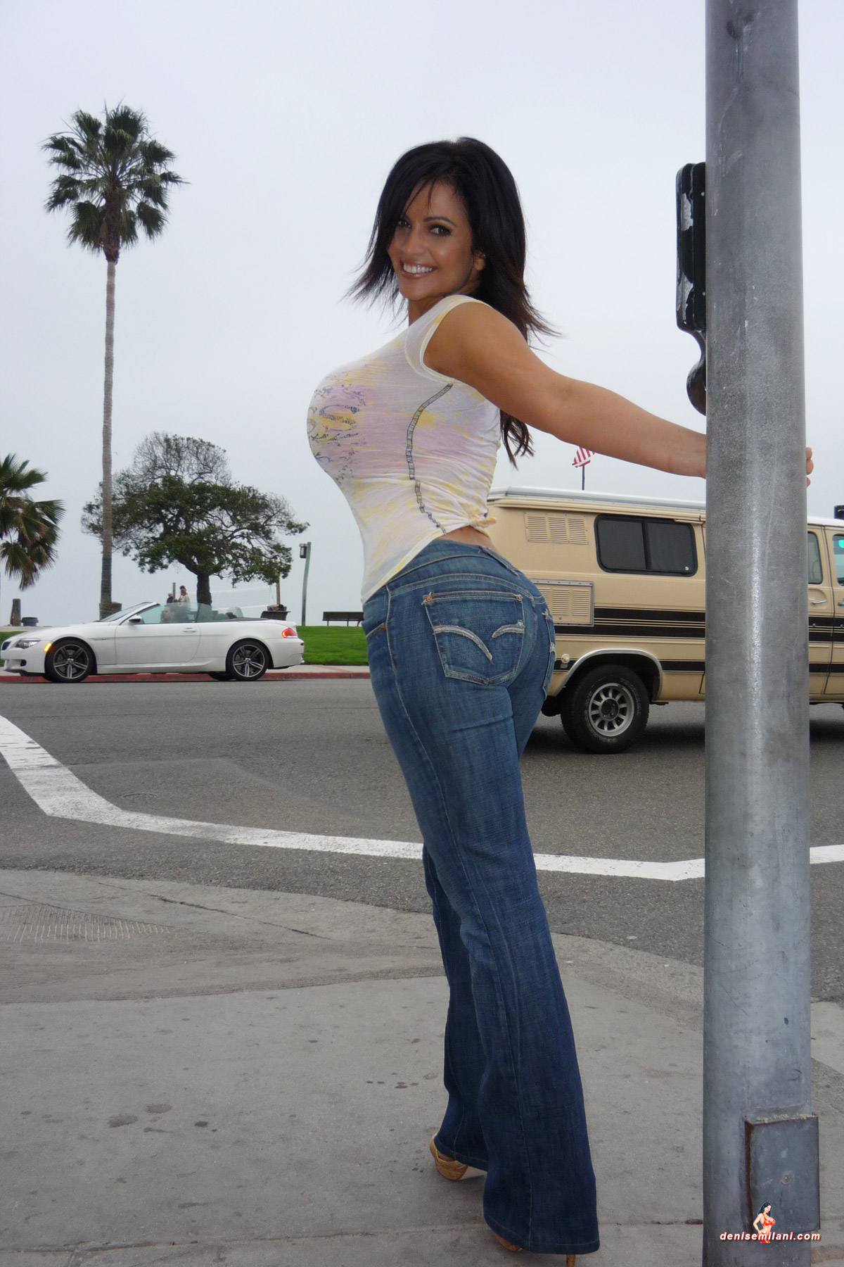 Denise Milani Kills In Jeans | planetdenise